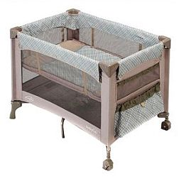 Evenflo BabyGo Portable Playard with Full Bassinet